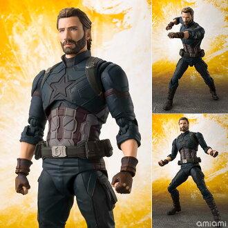 S.H. Figuarts - Captain America (Avengers: Infinity War)(Released)(S.H.フィギュアーツ キャプテン・アメリカ (アベンジャーズ/インフィニティ・ウォー))