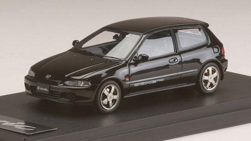 1/43 ホンダ シビック SIR-S (EG6) 1992 グラナダブラックパール[MARK43]《発売済・在庫品》