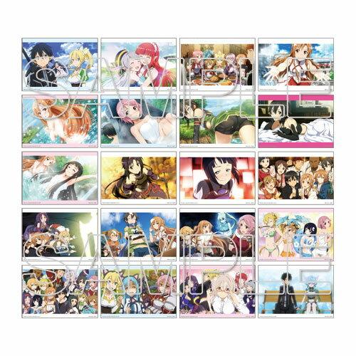 『ソードアート・オンライン』ゲームシリーズ5周年記念 トレーディングメモリーブロマイド 10パック入りBOX[アスキー・メディアワークス]《06月予約》