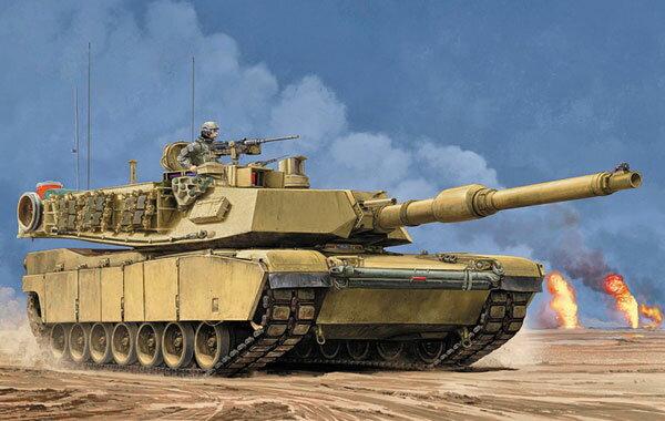 1/16 M1A2 SEP エイブラムス プラモデル[トランペッターモデル]【送料無料】《07月予約※暫定》