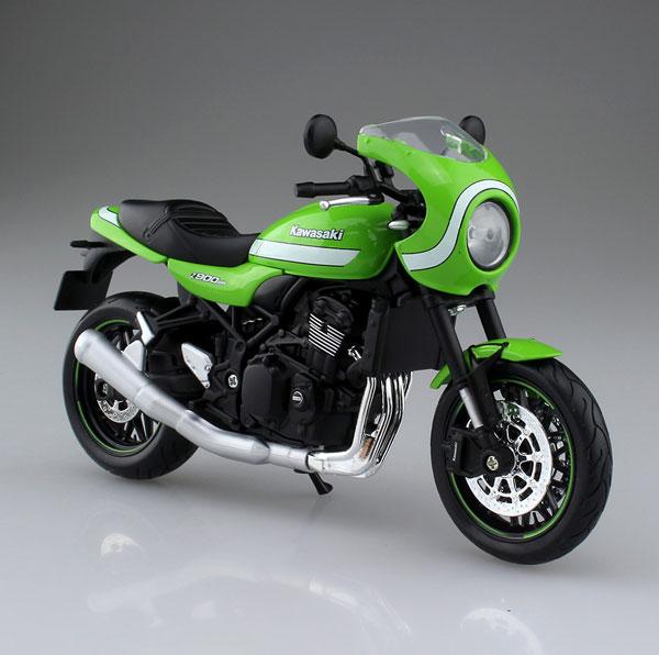 1/12 完成品バイク KAWASAKI Z900RS カフェ ビンテージライムグリーン[マイスト]《発売済・在庫品》