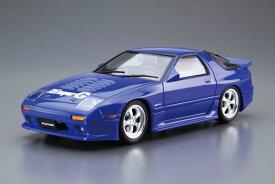 ザ・チューンドカー No.58 1/24 RE雨宮 FC3S RX-7 '89(マツダ) プラモデル(再販)[アオシマ]《発売済・在庫品》