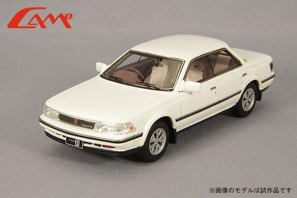 1/43 トヨタ カリーナ ED Gリミテッド 1985年型 スーパーホワイト[CAM@]《06月予約》