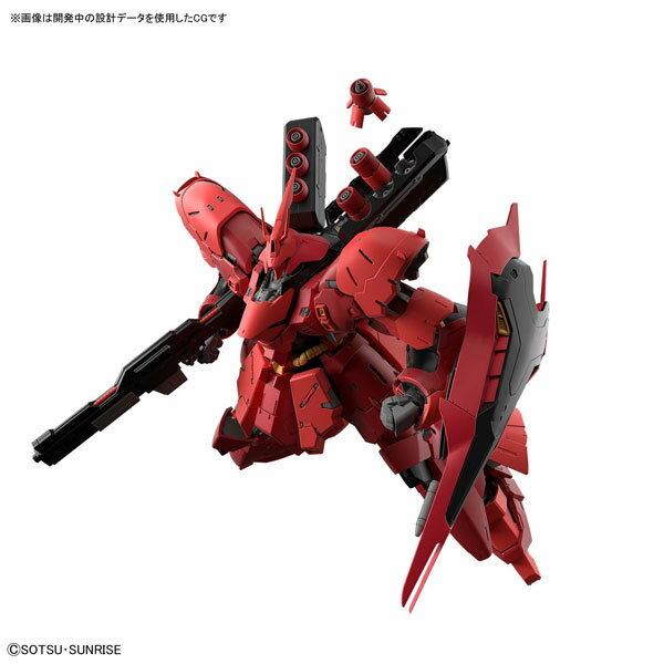 RG 1/144 サザビー プラモデル 『機動戦士ガンダム逆襲のシャア』(再販)[BANDAI SPIRITS]《09月予約》