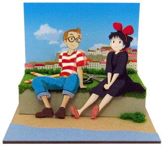 Miniatuart Kit Studio Ghibli mini - Kiki's Delivery Service: Tombo & Kiki(Released)(みにちゅあーとキット スタジオジブリmini 魔女の宅急便 トンボとキキ)