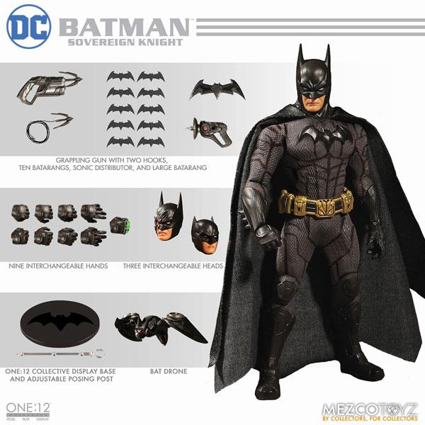 ワン12コレクティブ/ DCコミックス: ソブリン・ナイト バットマン 1/12 アクションフィギュア[メズコ]《02月仮予約》