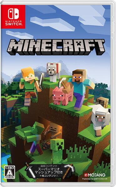 Nintendo Switch Minecraft (マインクラフト)[日本マイクロソフト]【送料無料】《発売済・在庫品》