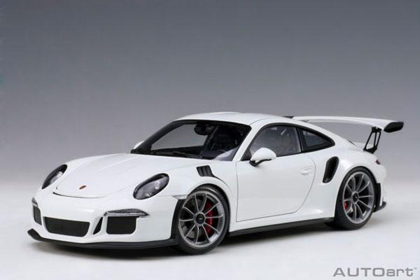 1/18 ポルシェ 911 (991) GT3 RS ホワイト[オートアート]《06月予約》