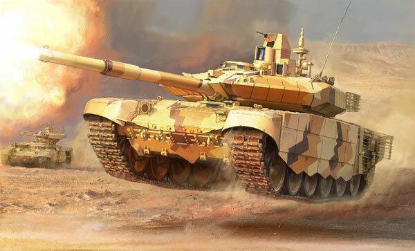 1/35 T-90MS ロシア主力戦車 プラモデル[ズベズダ]《08月予約》