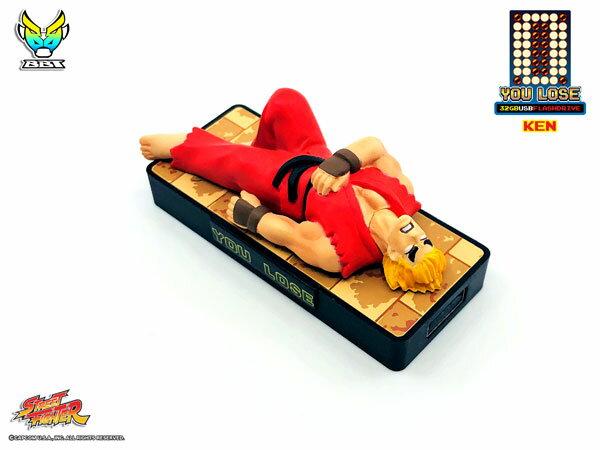 ストリートファイター「YOU LOSE」 32GB USBフラッシュメモリー ケン[Big Boys Toys]《取り寄せ※暫定》