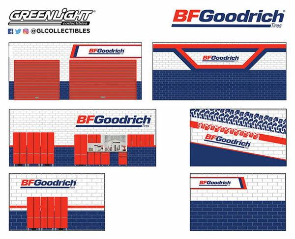 1/64 Mechanic's Corner Series 4 - Weekend Workshop BFGoodrich[グリーンライト]《11月仮予約》