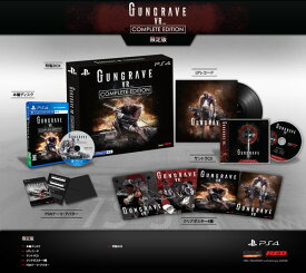 PS4 GUNGRAVE VR COMPLETE EDITION 限定版[IGGYMOB]《取り寄せ※暫定》
