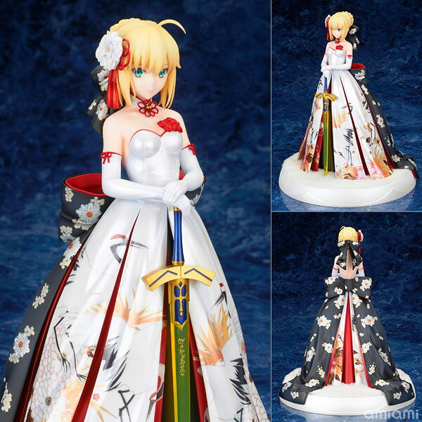 Fate/stay night セイバー 着物ドレスVer. 1/7 完成品フィギュア[アルター]《01月予約》