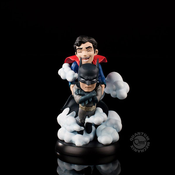 Qポップ マックス/ ワールズファイネスト: バットマン&スーパーマン PVCフィギュア[クアンタム・メカニックス]《発売済・在庫品》