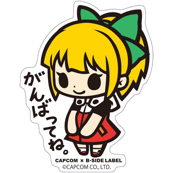 CAPCOM×B-SIDE LABELステッカー ロックマン11 ロールちゃん[B-SIDE LABEL]《09月予約》