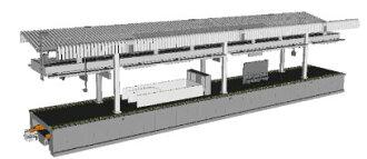 23-160 近郊形ホームDX 島式セット(23-160 Urban Platform DX (Island Platform Set)(Pre-order))