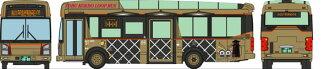 ザ・バスコレクション バスコレで行こう11 小江戸・川越 東武バスウエスト 小江戸名所めぐりバス(The Bus Collection - BusColle de Ikou 11 Koedo' Kawagoe Tobu Bus West Koedo Sightseeing Tour Bus(Pre-order))