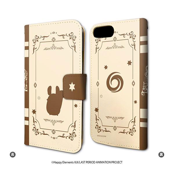 手帳型スマホケース(iPhone6/6s/7/8兼用)「ラストピリオド -終わりなき螺旋の物語-」01/ミウデザイン[A3]《07月予約》
