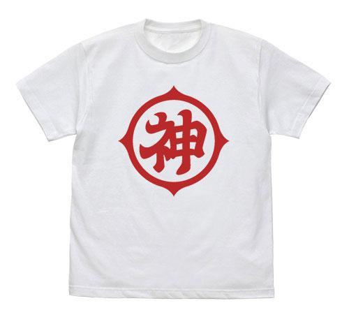 ドラゴンボールZ 神マーク Tシャツ/WHITE-L[コスパ]《08月予約》