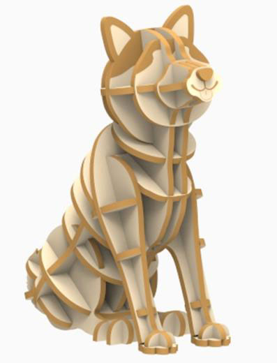 Wooden Art ki-gu-mi 秋田犬[Azone]《取り寄せ※暫定》
