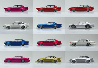 1/64 ダイキャストミニカー グラチャンコレクション BEST 2 12個入BOX(1/64 Diecast Mini Car Grachan Collection BEST Vol.2 12Pack BOX(Released))