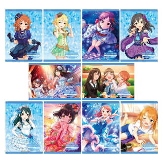 THE IDOLM@STER Cinderella Girls Clear File Collection /COOL' vol.4 10Pack BOX(Released)(アイドルマスター シンデレラガールズ クリアファイルコレクション/COOL、vol.4 10個入りBOX)