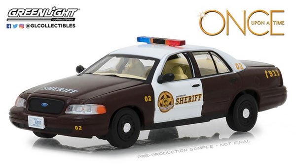 """1/43 Once Upon A Time - Sheriff Graham's 2005 Ford Crown Victoria Police Interceptor """"Storybrooke""""[グリーンライト]《取り寄せ※暫定》"""