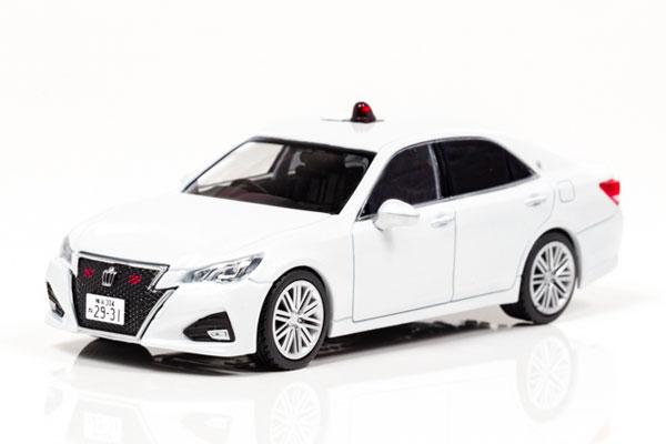 1/43 トヨタ クラウン アスリート (GRS214) 2017 神奈川県警察高速道路交通警察隊車両 (覆面)[RAI'S]《07月予約》