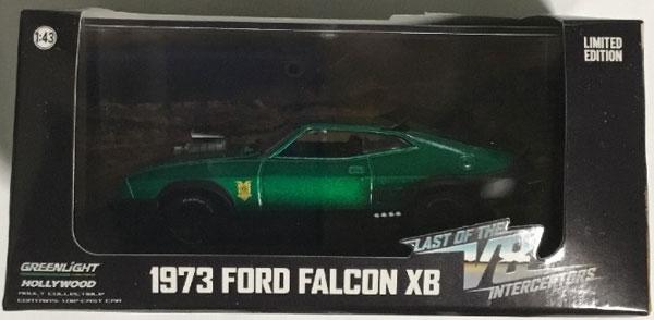 "1/43 Last of the V8 Interceptors (1979) - 1973 Ford Falcon XB ""Green Machines(レアカラーver.)""[グリーンライト]《発売済・在庫品》"