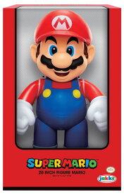 スーパーマリオ 20インチフィギュア マリオ(再販)[ジャックス・パシフィック]《発売済・在庫品》