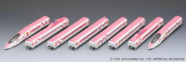 98662 JR 500 7000系山陽新幹線(ハローキティ新幹線)セット (8両)[TOMIX]【送料無料】《12月予約》
