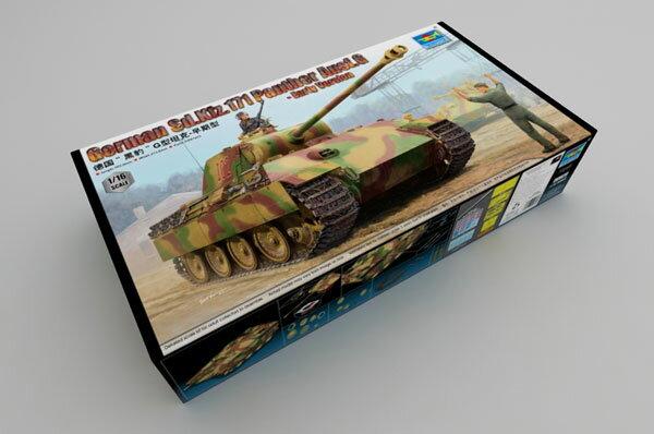 1/16 ドイツ軍 Sd.Kfz.171 パンターG型 プラモデル[トランペッターモデル]【送料無料】《10月予約※暫定》