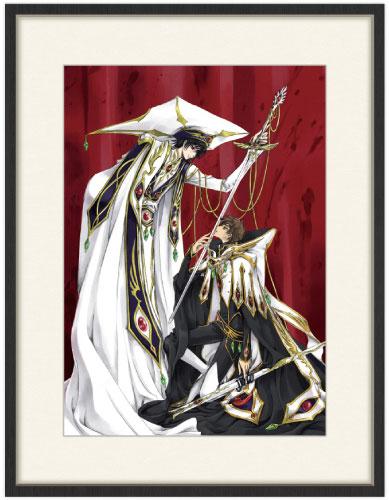 「コードギアス 反逆のルルーシュ」CLAMPイラスト 複製原画(ルルーシュ&スザク)[KADOKAWA]《09月予約》