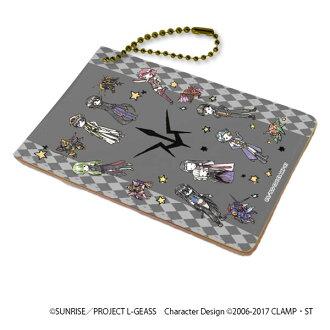 "Chara Pass ""Code Geass Lelouch of the Rebellion III Oudou"" 02/Black Knights (GraffArt Design)(Released)(キャラパス「コードギアス 反逆のルルーシュIII 皇道」02/黒の騎士団(グラフアートデザイン))"