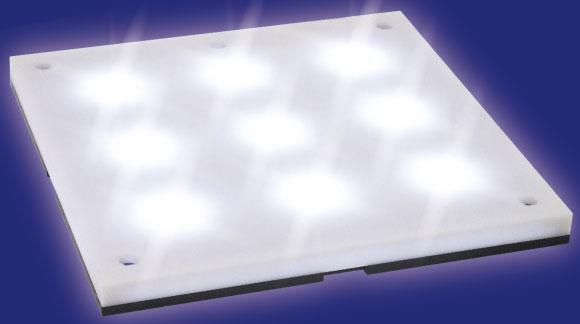 プレミアムパーツコレクション LEDステージ ホワイト[ホビーベース]《発売済・在庫品》