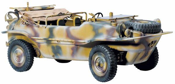 1/6 WW.II ドイツ軍 水陸両用車両 シュビムワーゲン プラモデル[ドラゴンモデル]《09月予約》