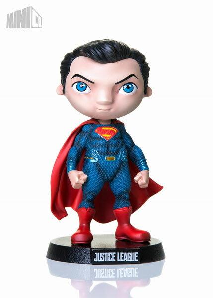 ミニヒーローズ/ ジャスティス・リーグ: スーパーマン PVC(再販)[MiniCo]《取り寄せ※暫定》