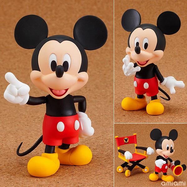 ねんどろいど ミッキーマウス 塗装済み可動フィギュア(再販)[グッドスマイルカンパニー]【送料無料】《発売済・在庫品》