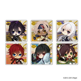 "Chara Acrylic Badge ""Ken ga Kimi Momoyotsuzuri"" 01/ 6Pack BOX(Released)(キャラアクリルバッジ「剣が君 百夜綴り」01/ 6個入りBOX)"