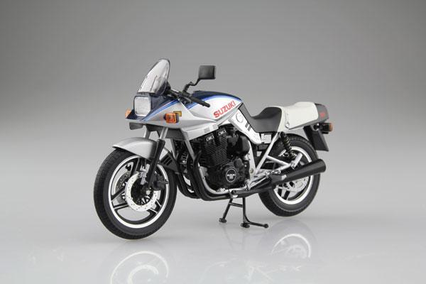 1/12 完成品バイク SUZUKI GSX1100S KATANA SD(青/銀)[ニューレイ]《発売済・在庫品》