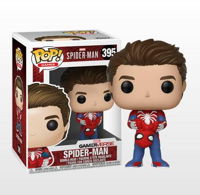 ポップ! 『Marvel's Spider-Man』スパイダーマン(マスクなし版)[ファンコ]《発売済・在庫品》