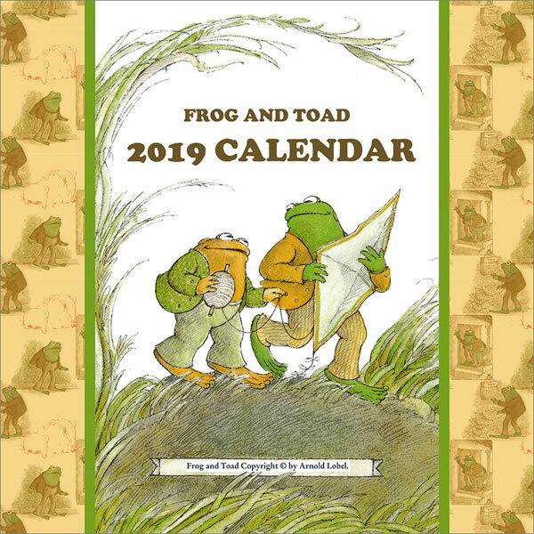 がまくんとかえるくん 2019年カレンダー[エンスカイ]《10月予約》