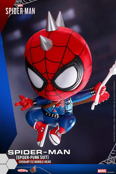コスベイビー 『Marvel's Spider-Man』[サイズS]スパイダーマン(スパイダー・パンク・スーツ版)[ホットトイズ]《発売済・在庫品》