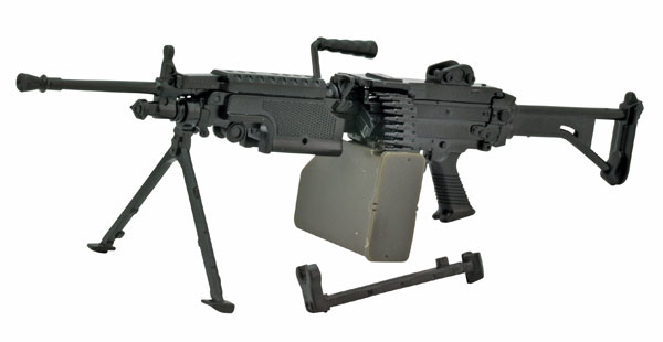 リトルアーモリー[LA046]5.56mm機関銃 1/12 プラモデル[トミーテック]《03月予約》
