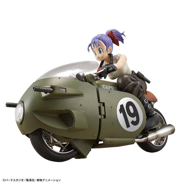 フィギュアライズ メカニクス ブルマの可変式No.19バイク プラモデル 『ドラゴンボール』[BANDAI SPIRITS]《発売済・在庫品》