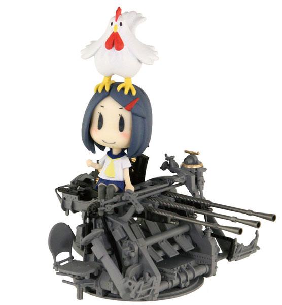 ぺあどっと キャラクターシリーズ 艦隊これくしょん -艦これ- 妖精さんと25mm三連装機銃 プラモデル[ぺあどっと]《12月予約》