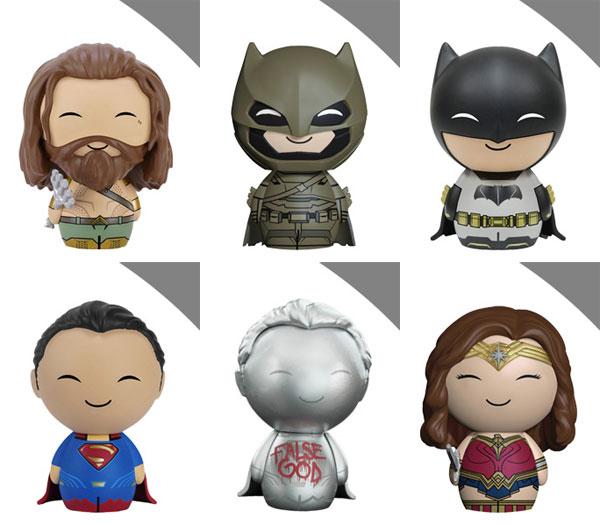 ドーブズ 『バットマン vs スーパーマン ジャスティスの誕生』6種セット[ファンコ]【送料無料】《発売済・在庫品》