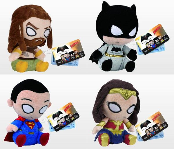 モーピーズ 『バットマン vs スーパーマン ジャスティスの誕生』4種セット[ファンコ]【送料無料】《発売済・在庫品》