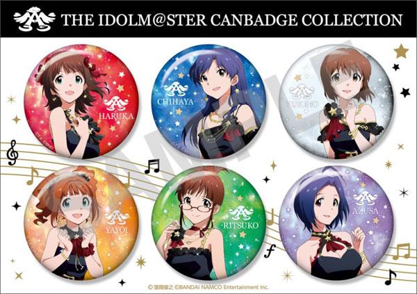 アイドルマスター 缶バッジコレクション 6種セット A[ファット・カンパニー]《発売済・在庫品》
