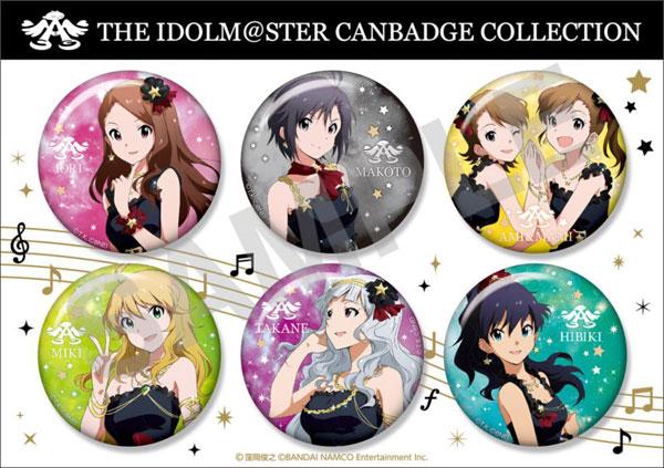 アイドルマスター 缶バッジコレクション 6種セット B[ファット・カンパニー]《発売済・在庫品》